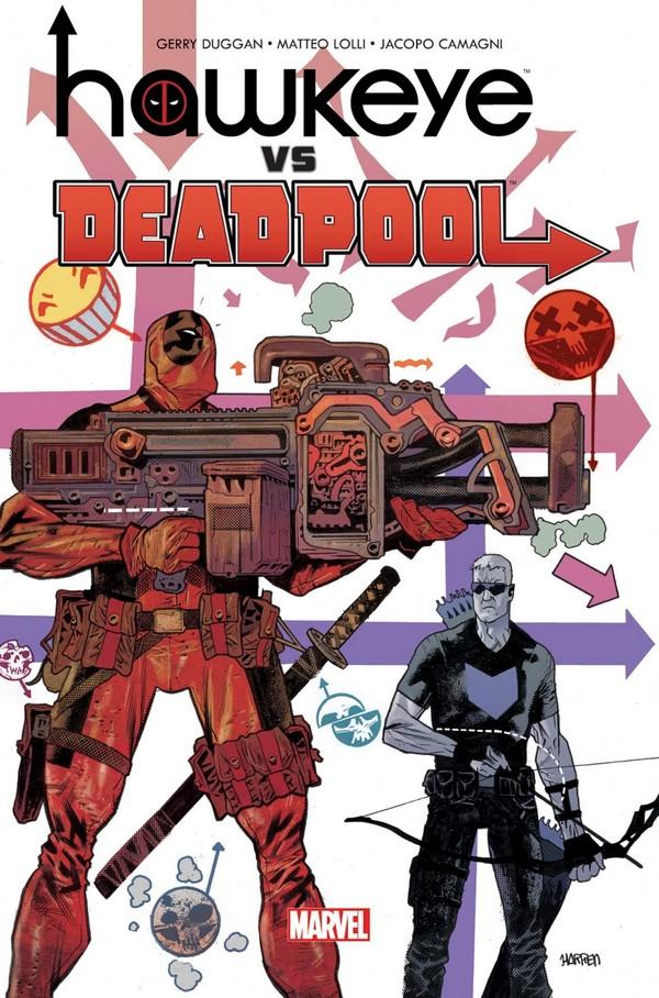 Hawkeye Vs Deadpool (VF)