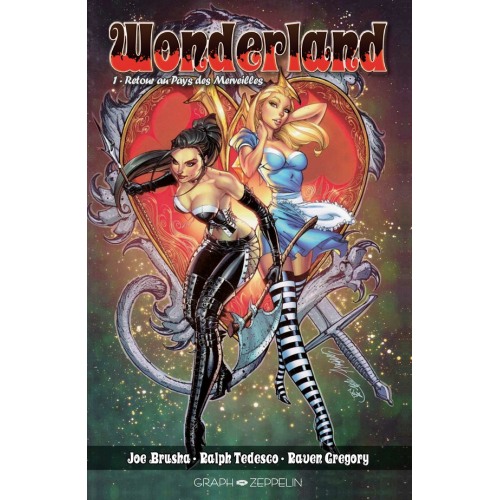 Wonderland tome 1 Edition Collector Original Comics 200 ex (VF)