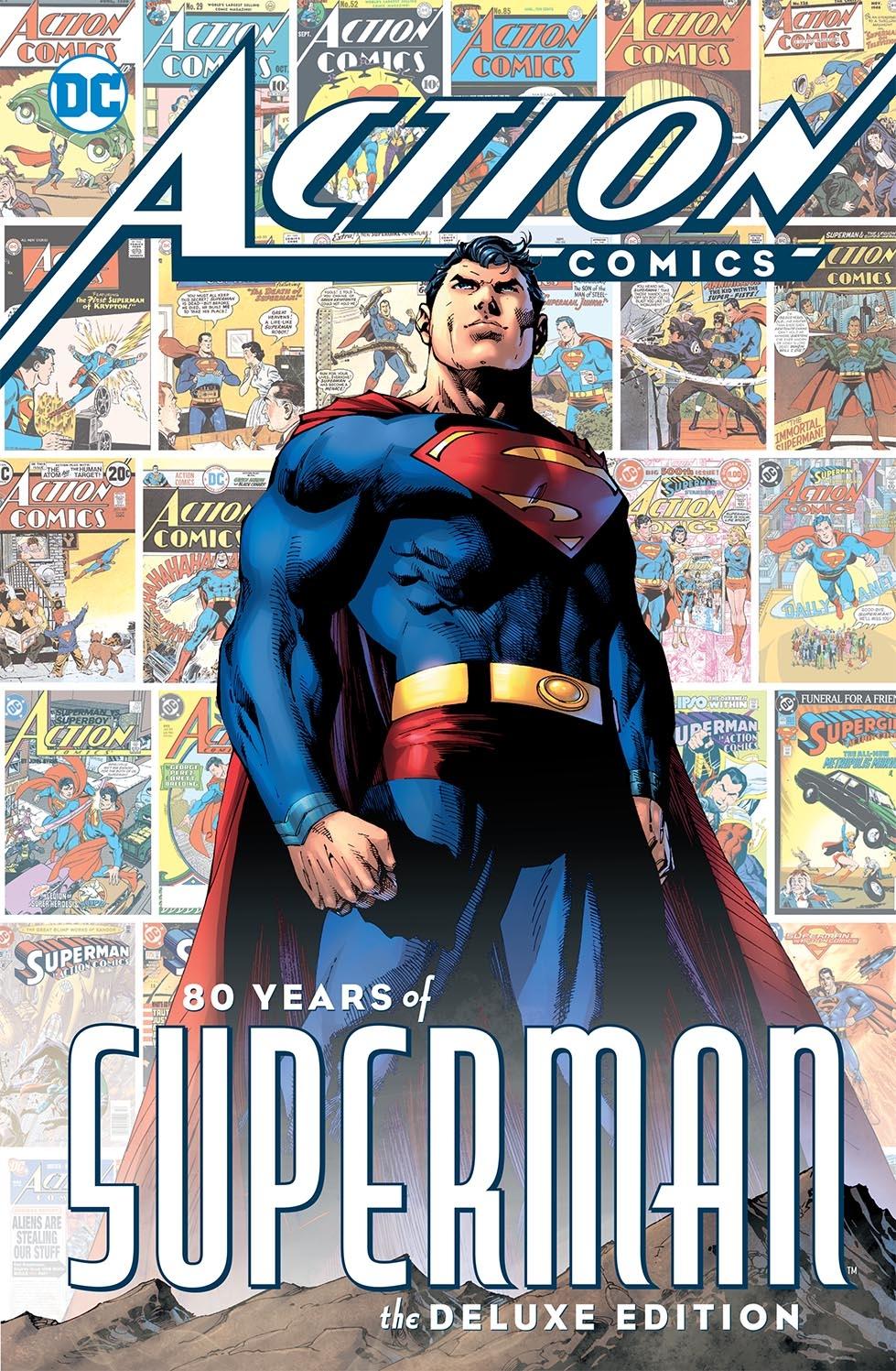 Action Comics 1000 80 years of superman HC (VO)