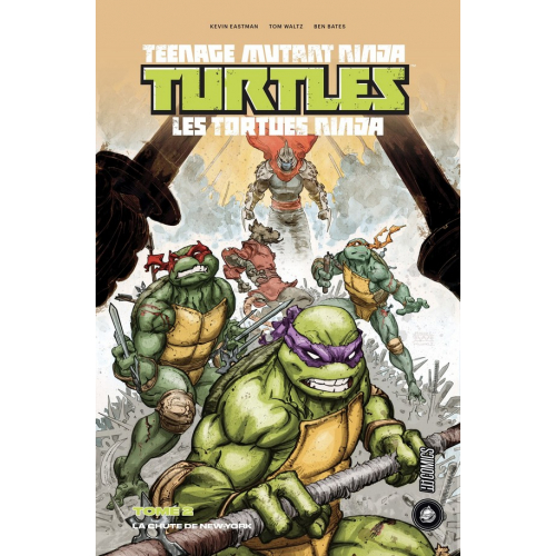 Les tortues ninja Tome 2 - La Chute de New-York (1/2) (VF)
