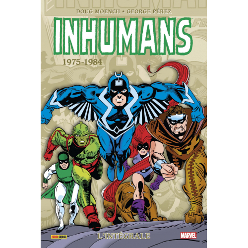 Inhumans - Intégrale 1975-1981 (VF)