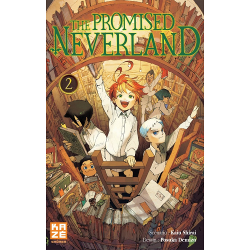 The promised Neverland Tome 2 (VF)