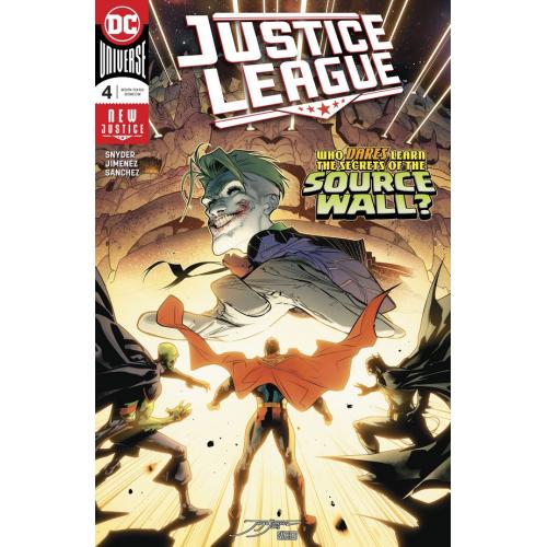 JUSTICE LEAGUE 4 (VO) Scott Snyder - Jorge Jimenez