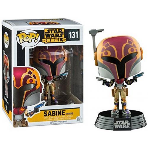 FUNKO POP Star Wars Rebels Sabine 131