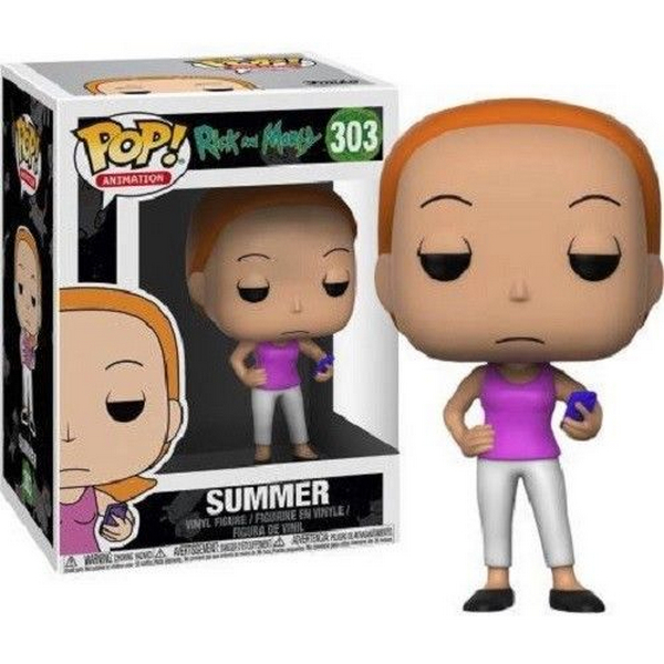 FUNKO POP Rick and Morty Summer