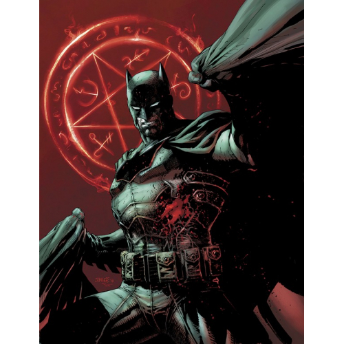 BATMAN DAMNED 1 (VO) JIM LEE VARIANT non censuré