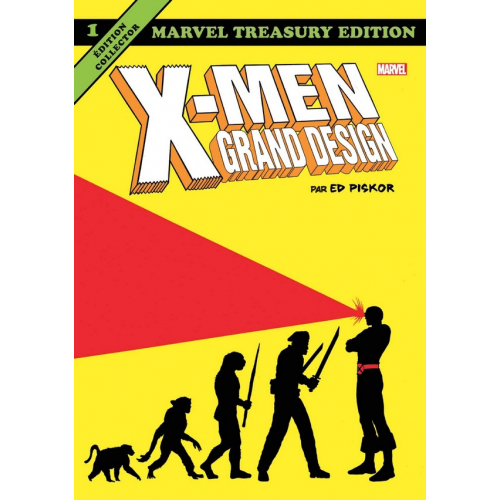 X-MEN - GRAND DESIGN grand format tome 1 (VF)