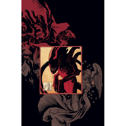Print ALIENS 02 - MIKE MIGNOLA - Original Fine Arts - Limited to 100