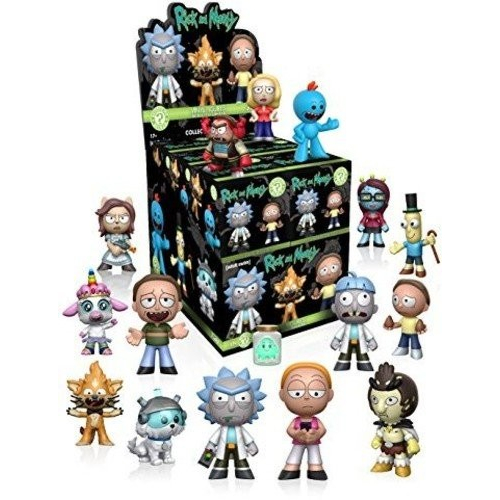 Funko Mystery Minis : Rick and Morty - une figurine par boite
