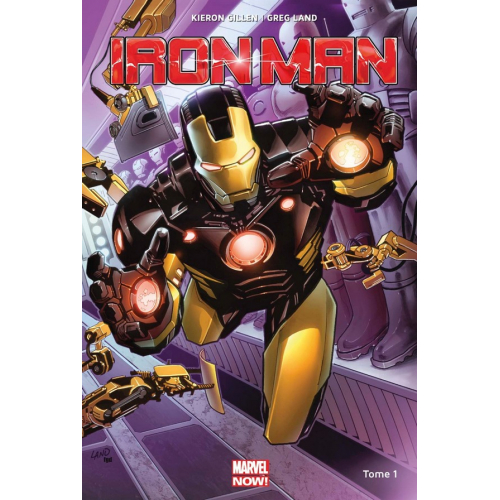 Iron Man Marvel Now Tome 1 (VF)