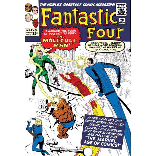 FANTASTIC FOUR MOLECULE MAN 1 (VO)