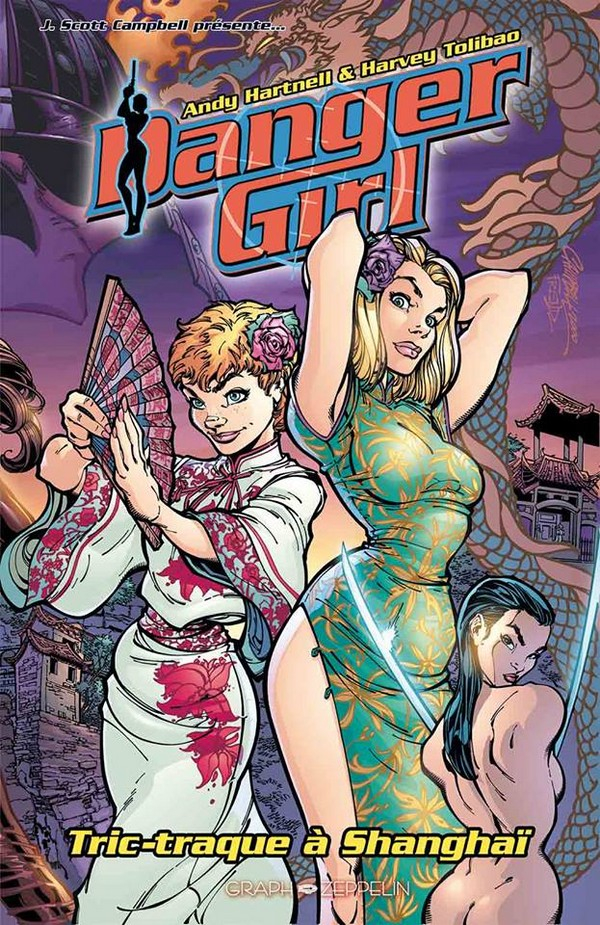 Danger Girl Édition Deluxe (VF)