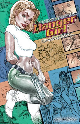 Danger Girl Sketchbook (VF)