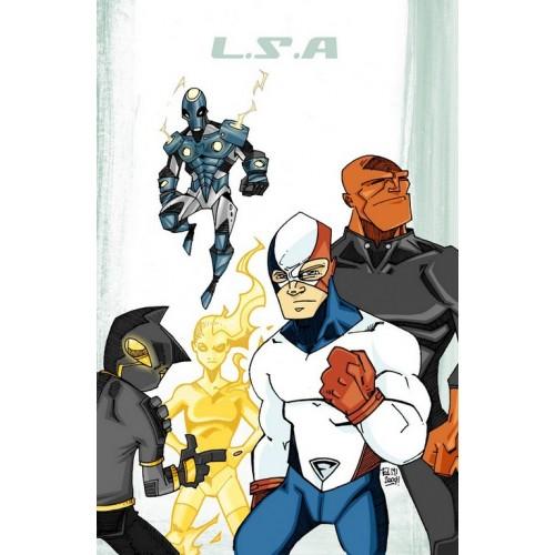 LSA 1 (White Cover) VF