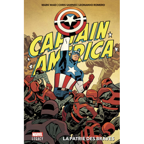 MARVEL LEGACY CAPTAIN AMERICA (VF)