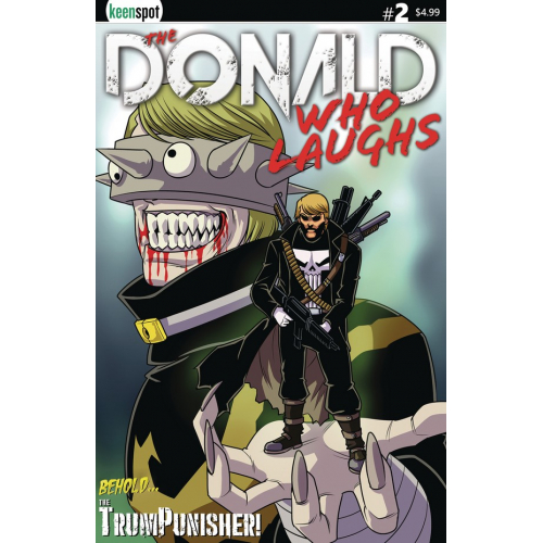 THE DONALD WHO LAUGHS 2 (VO) COVER A TRUMPNISHER