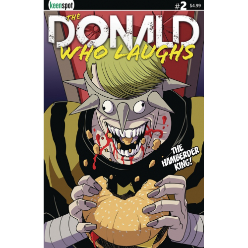 THE DONALD WHO LAUGHS 2 (VO) COVER B HAMBERDER