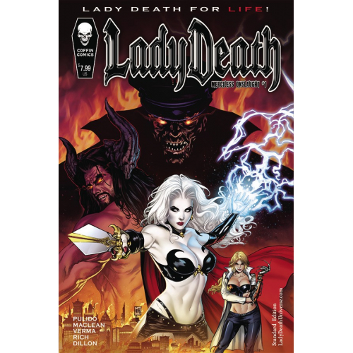 LADY DEATH MERCILESS ONSLAUGHT 1 STANDARD CVR (VO)