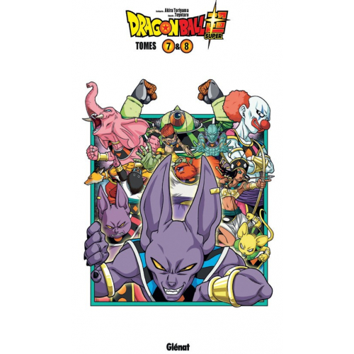 Dragon Ball Super - Coffret Tomes 7 et 8 (VF)
