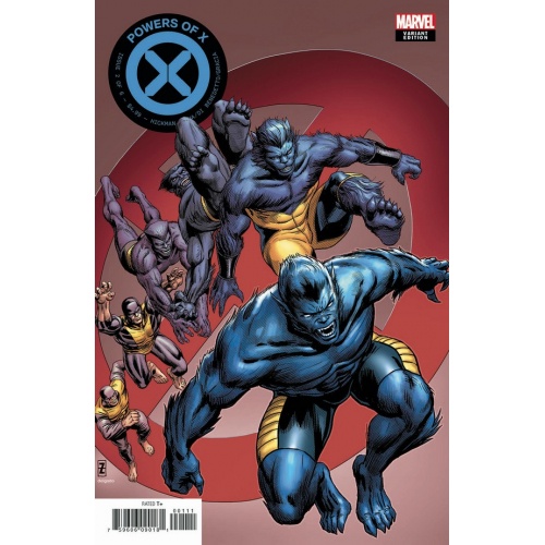 POWERS OF X 2 (OF 6) ZIRCHER CHARACTER DECADES VAR (VO)