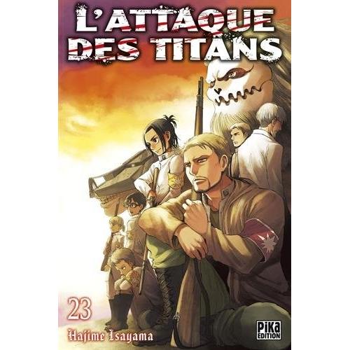 L'attaque des Titans Tome 23 (VF)