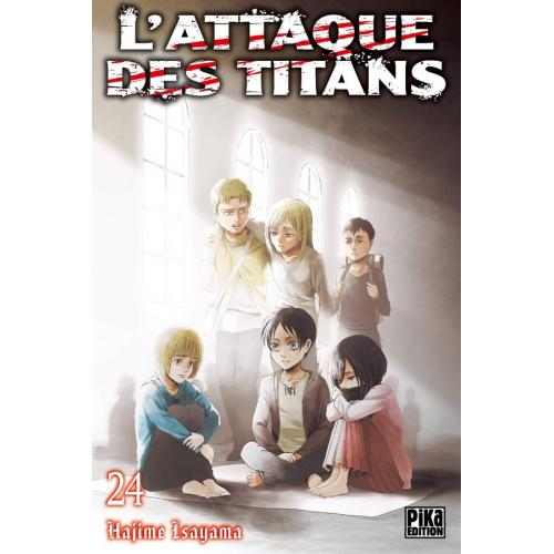 L'attaque des Titans Tome 24 (VF)