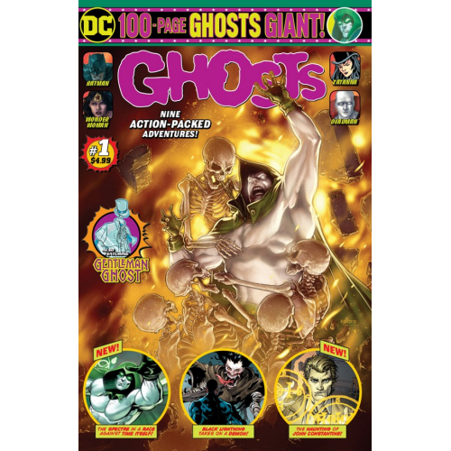 DC GHOSTS GIANT 1 (VO)
