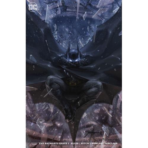 BATMANS GRAVE 1 (OF 12) CARD STOCK VAR ED (VO)