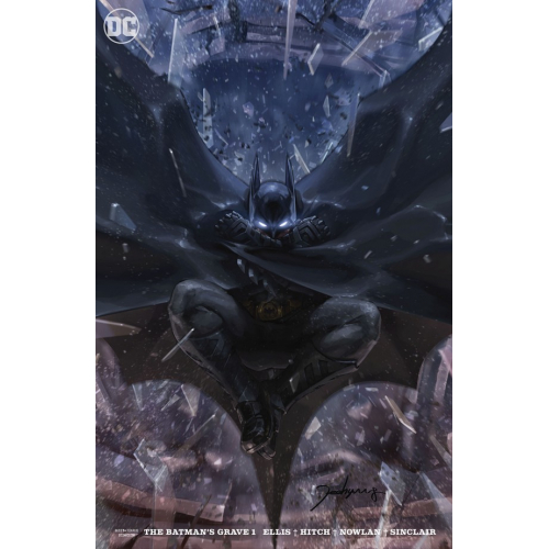 BATMANS GRAVE 1 (OF 12) CARD STOCK VAR ED (VO)