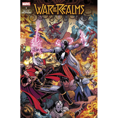 WAR OF THE REALMS 1 (VF)