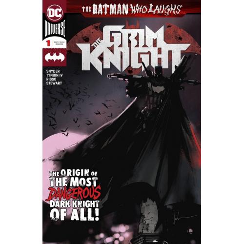 BATMAN WHO LAUGHS GRIM KNIGHT 1 signé par SCOTT SNYDER 1 (VO)