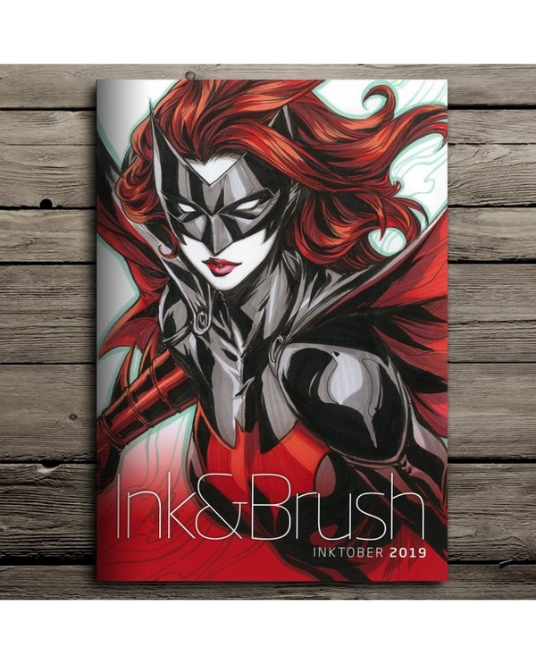 ARTGERM INK&BRUSH INKTOBER 2019 Signé (VO)