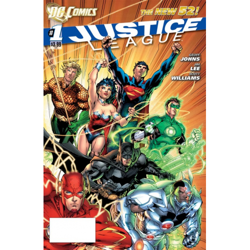 DOLLAR COMICS JUSTICE LEAGUE 1 (2011) (VO)