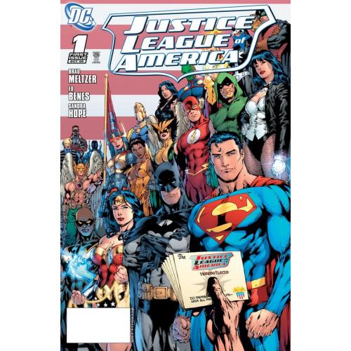 DOLLAR COMICS: JUSTICE LEAGUE OF AMERICA 1 (2006) (VO)