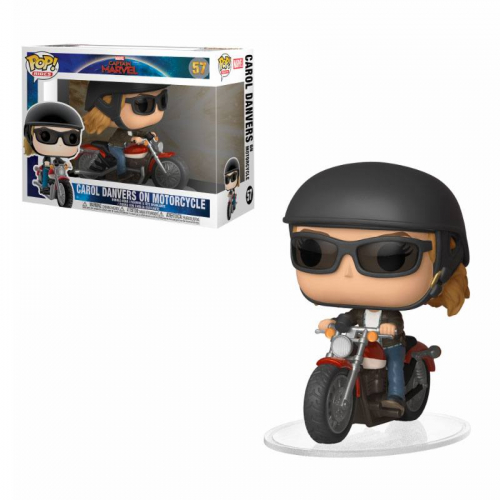 Funko Pop Captain Marvel - Carol Danvers On Motorcycle 57