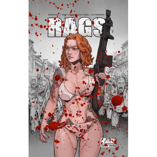 RAGS tome 1 Bloody Edition (VF) (Second tirage)