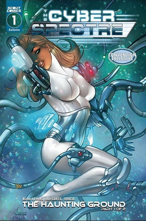 THE CYBER SPECTRE 1 (VO) Convention Exclusive - Marilyn Cover Foil