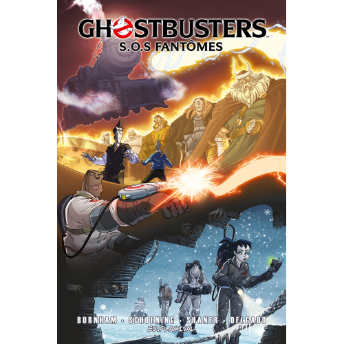 Ghostbusters Tome 6 - Train, Esprit et Résidus fantomatique (VF)