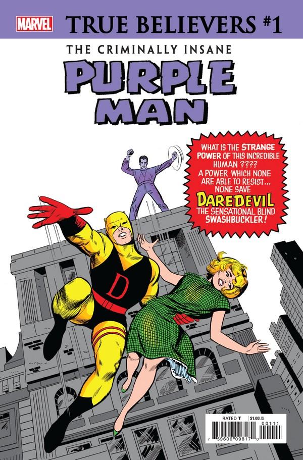 CRIMINALLY INSANE PURPLE MAN 1 (VO)