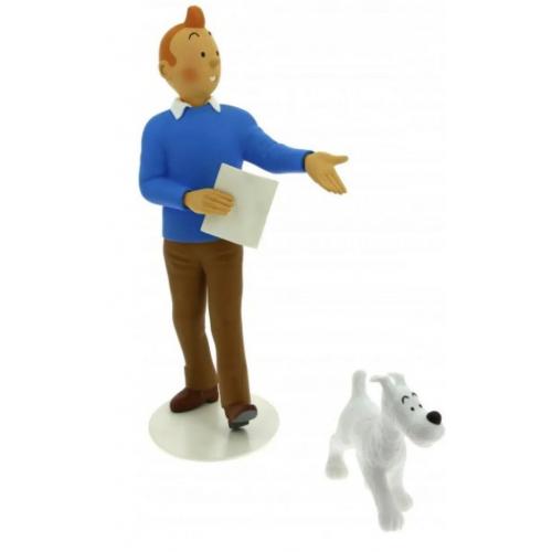 Tintin & Milou 25cm le Musée Imaginaire