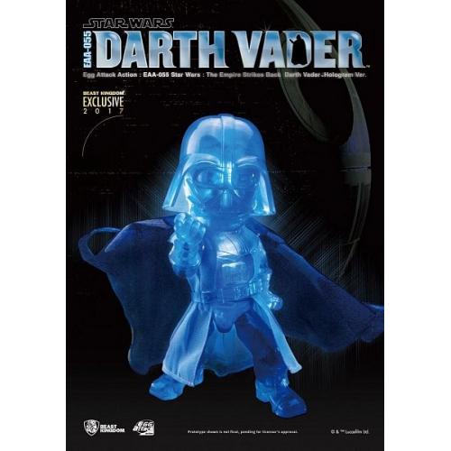 Star Wars Episode V Egg Attack Action Figure Darth Vader Hologram Ver. Exclusive 2017 17 cm