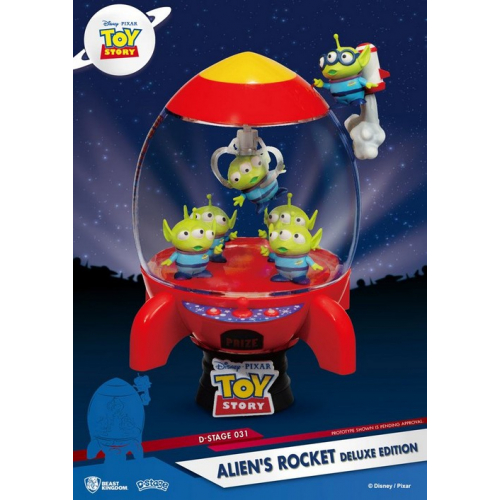 Diorama PVC D-Stage Toy Story Alien's Rocket Deluxe Edition