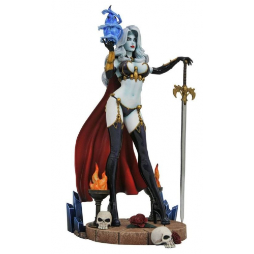 Femme Fatales statuette Lady Death IV 23 cm