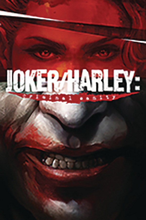DF JOKER HARLEY CRIMINAL SANITY 1 Signé par Mike Mayhew (VO)