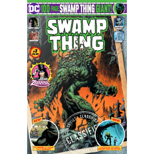 SWAMP THING GIANT 3 (VO)