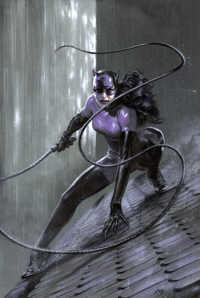CATWOMAN 80TH ANNIVERSARY 100-PAGE SUPER SPECTACULAR 1 (VO) 1980 - J. SCOTT CAMPBELL