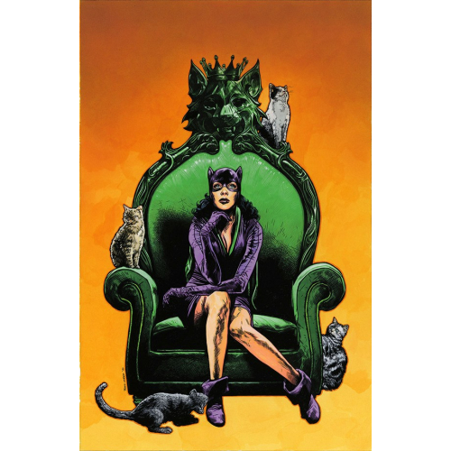 CATWOMAN 80TH ANNIVERSARY 100-PAGE SUPER SPECTACULAR 1 (VO) 1950 - TRAVIS CHAREST