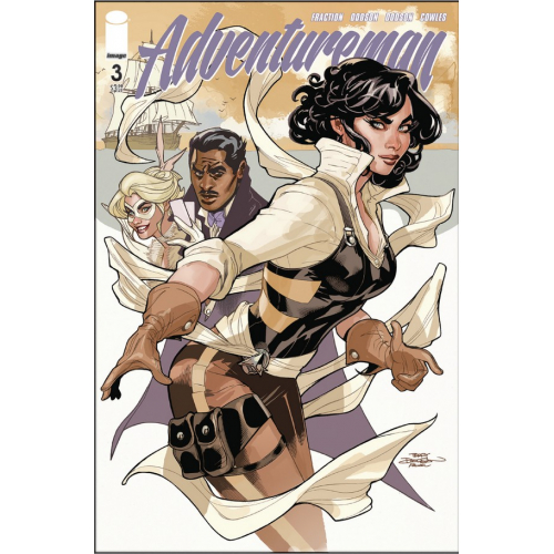 ADVENTUREMAN 3 (VO) Matt Fraction - Terry Dodson