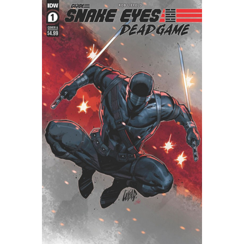 Gi-Joe : Snake Eyes: Deadgame 1 (VO) Cover A - Rob Liefeld
