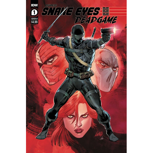Gi-Joe : Snake Eyes: Deadgame 1 (VO) Cover B - Rob Liefeld
